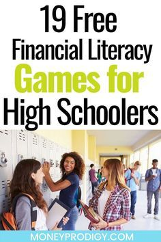 Need personal finance lessons for high school? These learning money games for teens are all free, and totally helpful when teaching financial literacy for teens and high school students. I love the budget simulations, and all of these really great online money games. #financialliteracy #teens #highschool #moneylessons