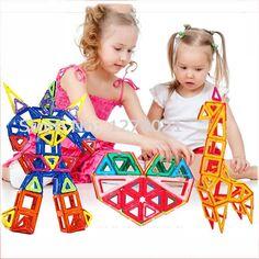42 PCS Standard Size Magnetic Building Blocks Model Building Toys Brick Enlighten Block Building Kits Magnetic Designer Toys