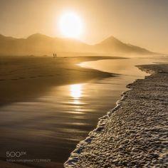 GOLD COFETE by harmony1  ISLAND SUNSET BEACH SPAIN GOLD FUERTEVENTURA COFETE CANARIAN harmony1