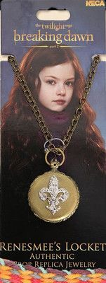 Breaking Dawn Part 2 Renesmee Locket if it were Gold I would ask for this for my b day or Christmas I love Renesmee