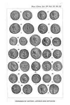 Roman's coins Rome / Roman : More At FOSTERGINGER @ Pinterest ⚫️