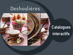 Deshoulieres! wonderful porcelain crockery in designs that I love!