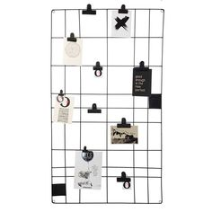 Vtwonen memo board 60 x 105 cm - magnetic. Hang your cheerfulest quotes, important shopping list or sweetest photos on the vtwonen memo board. Memo Boards, Magnetic Memo Board, My New Room, Room Interior, Interior Styling, Home And Living, Room Inspiration, Home Accessories, Home Furniture