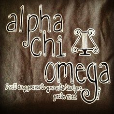INSTEAD has Alpha Sigma Tau. an anchor. and a line from our creed