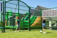 camping la capricieuse - city stade club enfants Camping Normandie, Junior, Soccer, Park, Club Kids, Bocce Court, Playground, Athlete, Futbol