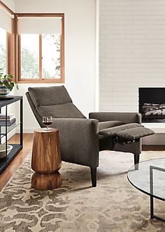 Wynton Recliners - Modern Recliners & Lounge Chairs - Modern Living Room Furniture - Room & Board