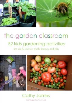 Do you use the outdoors as your classroom? The Garden Classroom e-book has 52 kids gardening activities that are fun, creative and full of learning. Art, craft, science, math, literacy and play - watch the video for a peek inside the book and get your copy to start enjoying the ideas with your children.