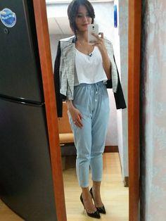 [Uber OOTD:Jul11-2014] top, jacket, pants all from Suite Blanco
