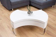 Otočný konferenčný stolík Turn Around x 100 cm Laque, Style Retro, Ottoman, Chair, Furniture, Home Decor, Products, Contemporary Coffee Table, Table Legs