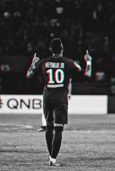 "Neymar, ""God bless us and protect us"" ☝️☝️☝️☝️ Mbappe Psg, Neymar Psg, Ronaldo Football, Football Boys, Fc Barcelona Neymar, Neymar Jr Wallpapers, Cristiano Ronaldo 7, Soccer Skills, Soccer Quotes"