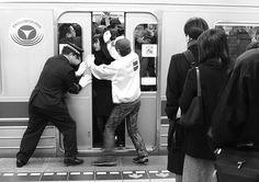 16 Types of Subway Commuters Everyone Hates: The Door Opener