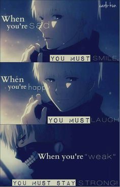 anime quotes Hat quotes you are ideas - anime Sad Anime Quotes, Manga Quotes, Hat Quotes, True Quotes, Quotes Quotes, Anniversary Quotes, Ken Anime, Manga Anime, Tokyo Ghoul Quotes