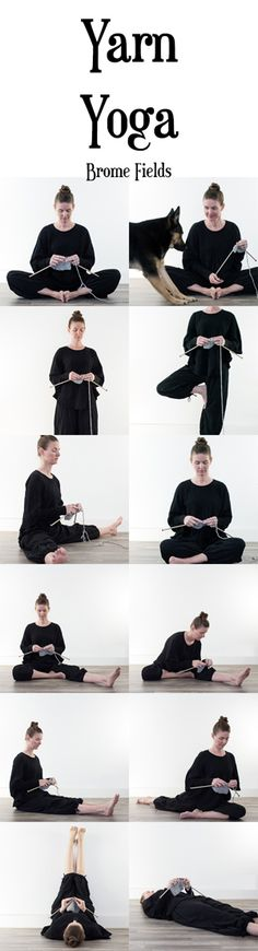 Yarn Yoga Poses – Brome Fields