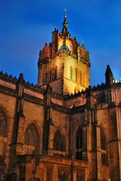 Edinburgh. St. Giles Cathedral, Scotland | Lee Sie This would be a beautiful wedding venue!!