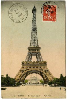 French Postcard 1909