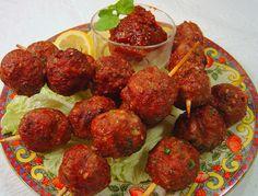 Grilled Korean Style Meatballs - RecipeZazz.com