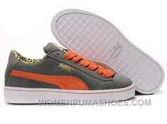 cd4ccba0bb772b Women s Puma Suede Gray-orange Cheap To Buy Jy5PS