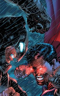 Justice League Of America #9 Variant cover by Jim Lee, Scott Williams & Alex Sinclair.