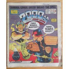 2000 AD #514 1987 UK Paper Sci Fi Comic