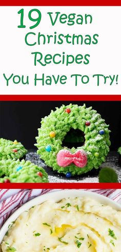 When it comes to vegan Christmas dinner the recipes are very important. Whether you are making main dishes dinner dessert sides or appetizers these easy ideas are healthy and delicious to please the whole family! Vegan Christmas Dinner, Easy Vegan Dinner, Christmas Meals, Vegetarian Desserts, Vegan Recipes, Cooking Recipes, Plant Based Snacks, Vegan Facts, Vegan Junk Food
