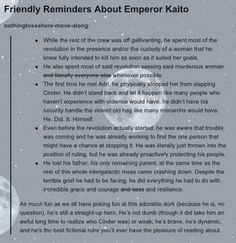 Kai is the best fictional ruler you'll ever read about