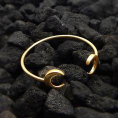 Handmade Jewelry  22k Yellow Gold Plated Handmade by darlingpiece