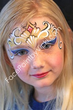 crown face paint Dezuanni Erbe and Schmeltzer Bean Girl Face Painting, Painting For Kids, Body Painting, Face Paintings, Easy Face Painting Designs, Face Painting Tutorials, Pirate Face, Cheek Art, Face Paint Makeup