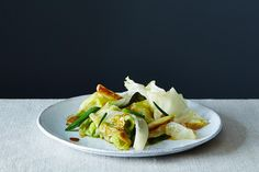 Grace Young's Stir-Fried Iceberg Lettuce, a recipe on Food52