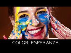 Resultado de imagen para pintarse cara color esperanza