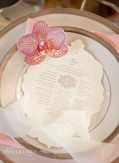 A Radiant French Inspired Wedding Photo Shoot | Calligraphy by Jennifer
