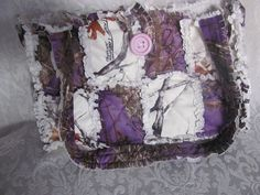 Purple Lavender True Timber Camo and White by morethanbearscrafts