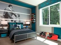 boys rooms football themed room | Interiors, Room and Bedrooms