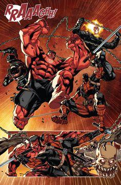 Red Hulk & Thunderbolts