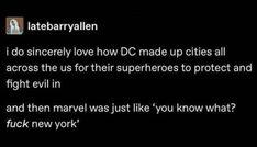 Funny Marvel Memes, Dc Memes, Avengers Memes, Marvel Jokes, Marvel Avengers, Marvel Comics, Geeks, Marvel Cinematic Universe, Tumblr Funny
