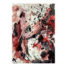 5x7 Canvas #Panel Acrylic Impasto Painting Signed by #Artist on the Back  This is a unique abstract piece.#cashwellcreations #art #painting