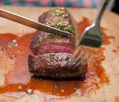 Cast Iron Skillet Recipe: Mediterranean Tri-Tip Steak