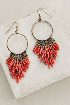 Anthropologie Canna Earrings #anthroregistry