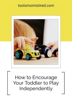 How to Encourage Your Toddler to Play Independently | how to get your toddler to play by himself / herself / themself. Independent play ideas for toddlers, one year olds, two year olds, three year olds. Independent play for babies Two Years Old Activities, Activities For Kids, Tired Mom, Terrible Twos, Three Year Olds, Play Ideas, Raising Kids, Parenting Advice, Toddlers