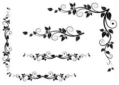 Deco Leaves PNG Clipart Picture