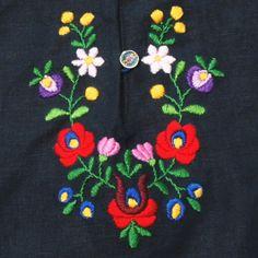 ハンガリー刺繍のワンピース 作り方---輸入手芸材料店プチコパン