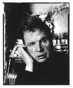 Painter Francis Bacon, London Studio, 1983 by David Bailey Francis Bacon, John William Waterhouse, Portraits, Portrait Photographers, Portrait Ideas, David Bailey Photography, Photoshop, Artists Like, Artistic Photography