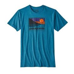 M's Up & Out Cotton/Poly T-Shirt, Filter Blue (FLTB)