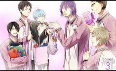 Kuroko no Basuke (Kuroko's Basketball) Image - Zerochan Anime Image Board Basketball Anime, Desenhos Love, Kiseki No Sedai, Akakuro, Generation Of Miracles, Kuroko Tetsuya, No Basket, Disney Cartoons, Doujinshi