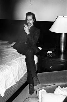 Nick Cave photographed by Miguel Villalobos. Nick Cave, Susie Cave, The Bad Seed, Music Icon, Post Punk, Photo Black, Actors, Debut Album, Concert