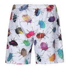 Surf Shorts, Jogger Shorts, Men's Shorts, Print Shorts, Casual Shorts, Style Casual, Men Casual, Men's Style, Style Cool