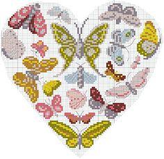 Fêtons l'arrivée du printemps avec cette envolée de papillons.