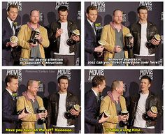 Chris Evans. Lol.