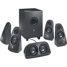 logitech z506 51 surround sound speakers 6 piece amazoncom logitech z906 surround sound speakers rms
