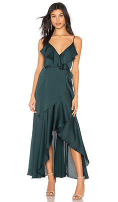 Looking for Luxe Bias Frill Wrap Dress Shona Joy ? Check out our picks for the Luxe Bias Frill Wrap Dress Shona Joy from the popular stores - all in one. Maxi Dress Wedding, Bridesmaid Dresses, Prom Dresses, Satin Dresses, Gowns, Evening Dresses Online, Event Dresses, Revolve Clothing, Green Dress
