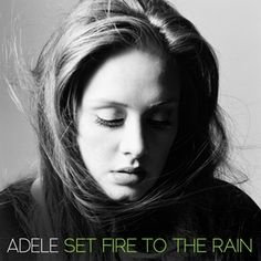 Adele - Set Fire to the Rain - CD single from 21